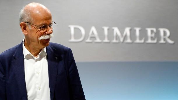 Das große Zittern bei Daimler