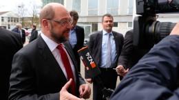 Schulz fordert mehr Rechte für die Basis