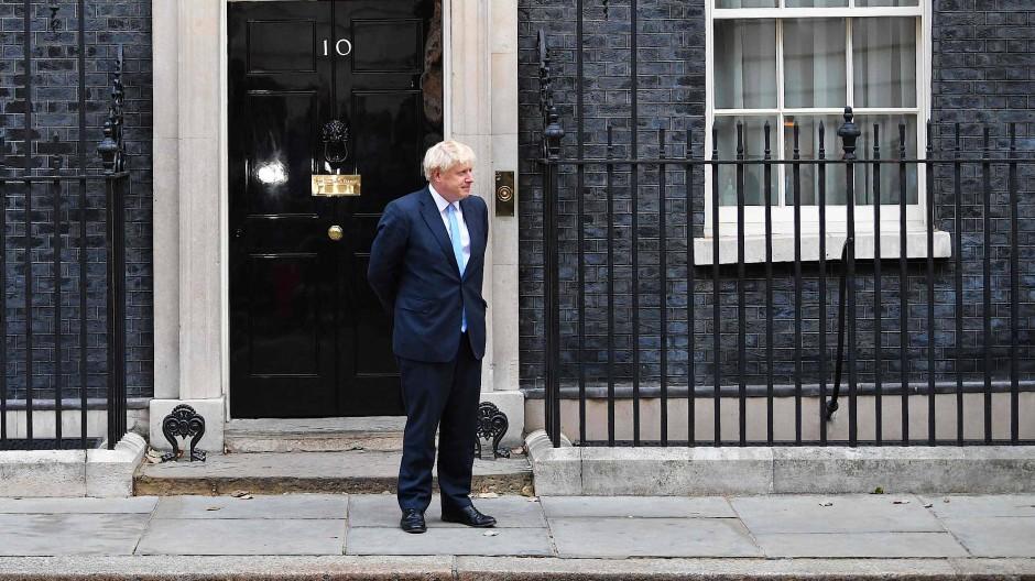 Mit dem Kopf durch die Wand, ohne Rücksicht auf Verluste: der britische Premierminister Boris Johnson