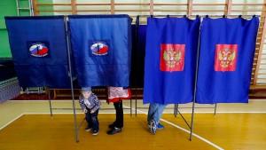 Kreml-Partei mit Wahlergebnis zufrieden