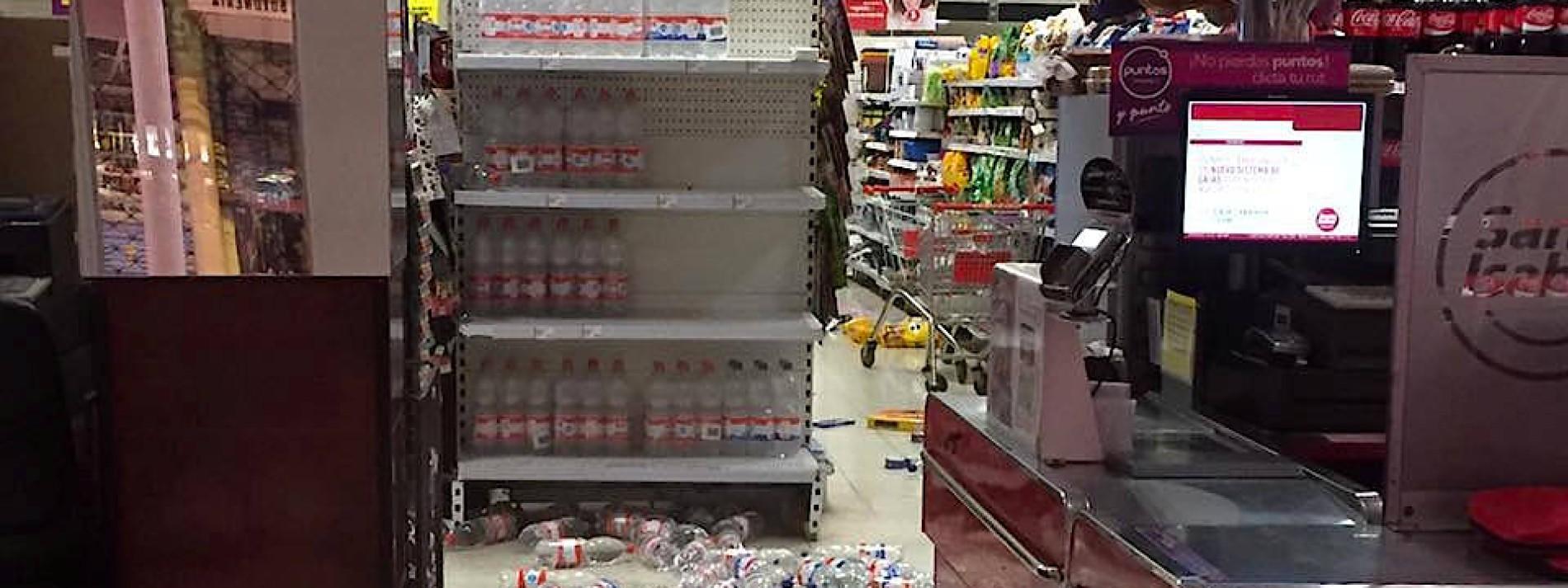 Starkes Beben erschüttert Chile
