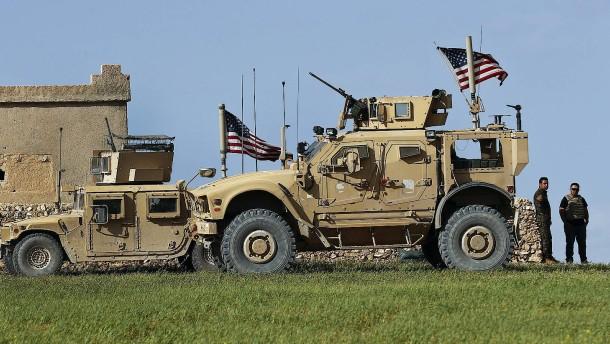 400 amerikanische Soldaten bleiben in Syrien