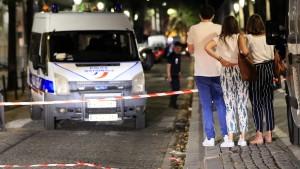 Sieben Menschen in Paris verletzt
