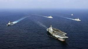 China arbeitet sich militärisch im Indischen Ozean vor