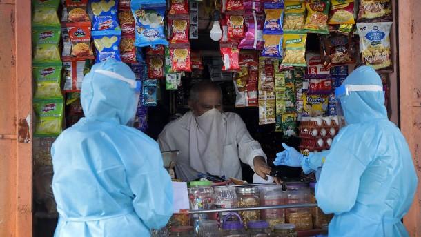 Neu-Infektionen in Indien erreichen Höchststand