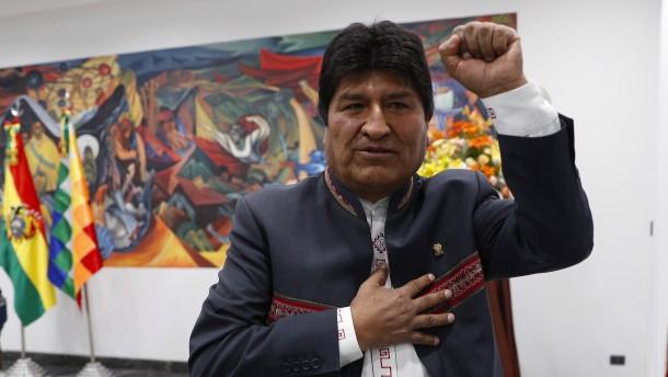 Oberstes Wahlgericht bestätigt Wahlsieg von Präsident Morales