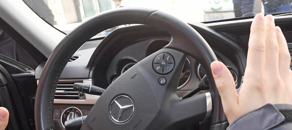 """8080185bf98 In dem Forschungszentrum """"BerthaOne"""" für autonomes Fahren in Karlsruhe soll  nun getestet werden,"""
