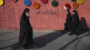 "Festnahmen bei ""Anti-Kopftuch-Protesten"" in Teheran"