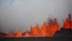 Vulkan auf Island ist erwacht