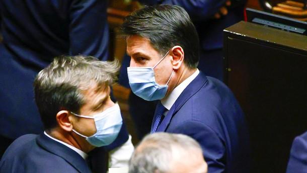Italiens Ministerpräsident gewinnt Vertrauensabstimmung