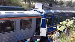 Viele Verletzte bei Zugunglück