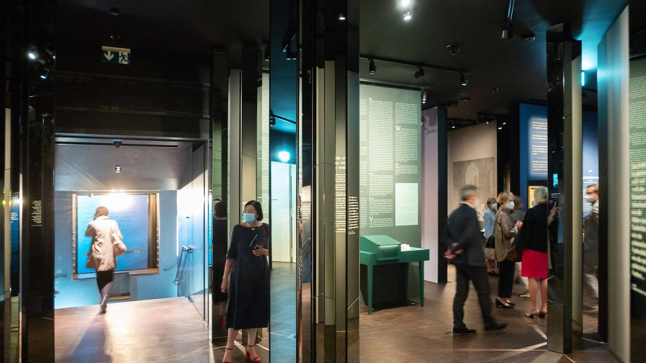 Ausstellungsräume: Ein Blick in das neue Museum