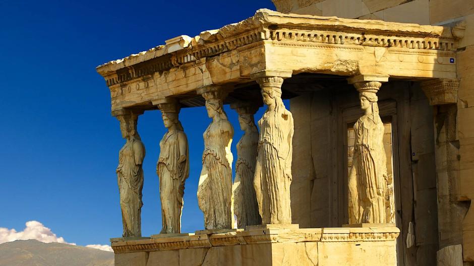 Akropolis-Tempel in Athen