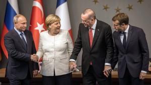 Vierer-Gipfel plant Neustart für Syrien