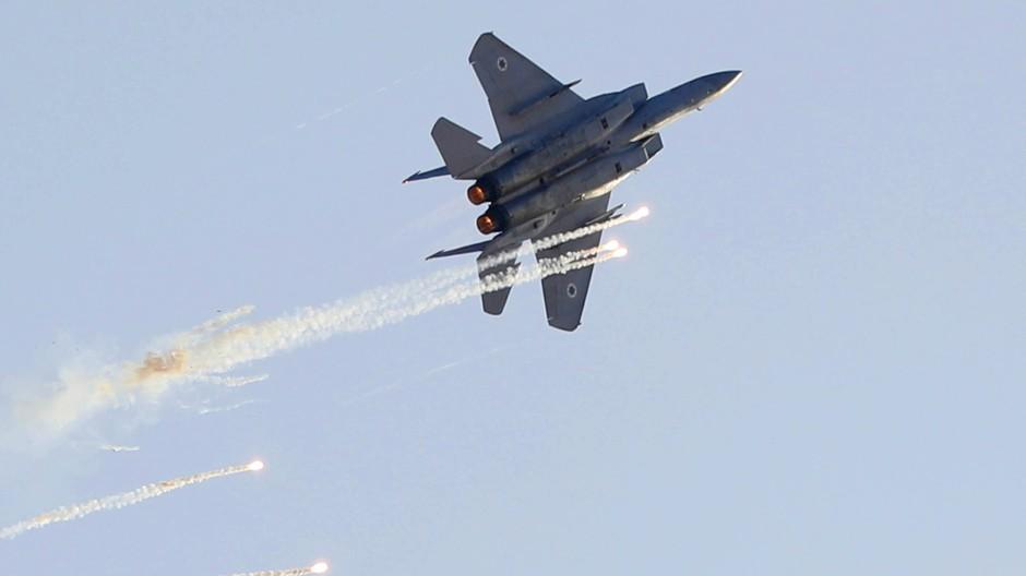 Israelischer Kampfjet (Archivbild)