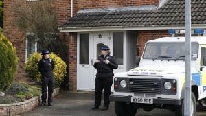 Ehemaliger Agent offenbar an eigener Haustür vergiftet