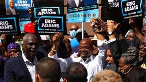 Wird Eric Adams der nächste Bürgermeister von New York?