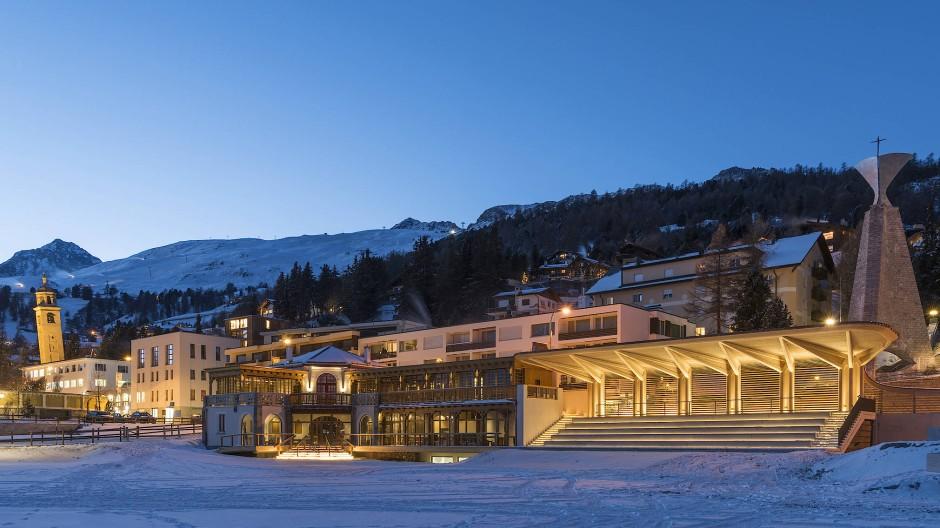 Sankt Moritz ist einer der Hotspots für Immobilienkäufe in Skigebieten.