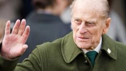 Britischer Prinz Philip im Alter von 99 Jahren gestorben