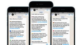 Das Wichtigste per Whatsapp, Telegram und Messenger