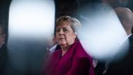 Bundeskanzlerin Angela Merkel am Montag in Berlin