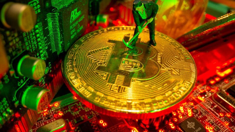 Bitcoin, wohin das Auge blickt.
