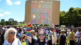 Australier stimmen für gleichgeschlechtliche Ehe