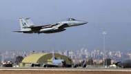 Der Luftwaffenstützpunkt Incirlik in der Nähe von Adana in der Türkei