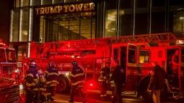 Ein Toter bei Brand im Trump-Tower