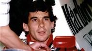 Lebt in den Köpfen und Herzen vieler junger Rennfahrer weiter: Ayrton Senna