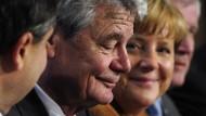 Garantiert parteitaktisch überparteilich: Angela Merkel und Joachim Gauck