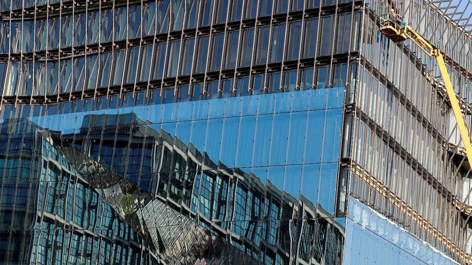Soll auch morgen noch Stand der Technik sein: Das digitalisierte Bürogebäude Cube Berlin
