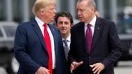 Trump und Erdogan beim Nato-Gipfel im Juli in Brüssel