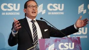 CSU hofft auf Fraktionssitzung