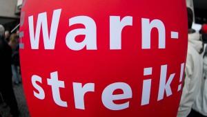 Warnstreiks bei Deutscher Telekom in Frankfurt und Fulda