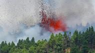 Mehrere Eruptionen: Vulkanausbruch auf Kanareninsel La Palma