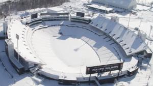Kein Touchdown im Schnee