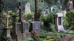 Trauerwälder statt Tiefgräber