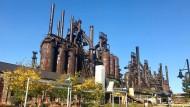 Setzt inzwischen vor allem Rost an: das ehemalige Stahlwerk in Allentown