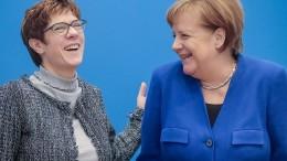 CDU-Vorsitzende AKK wird Verteidigungsministerin