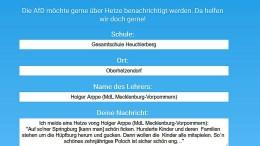 Piratenpartei schaltet Meldeportal für AfD-Abgeordnete