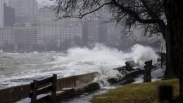 Mehrere Tote bei starken Stürmen