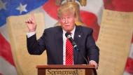Er meint es ernst: Donald Trump