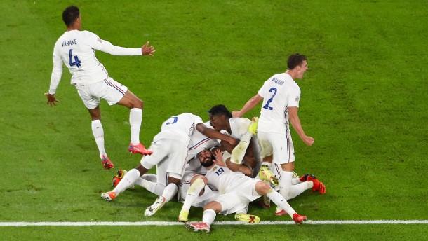 Frankreichs beeindruckende Aufholjagd gegen Belgien