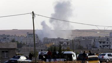 Umkämpftes Kobane: Die kurdische Enklave in Syrien ist Attacken der Terrormiliz IS ausgesetzt