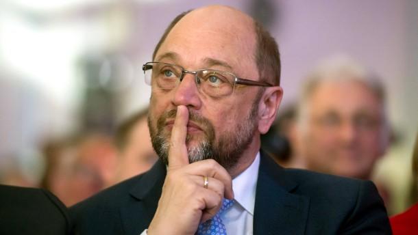 Schulz rutscht wieder unter 30 Prozent