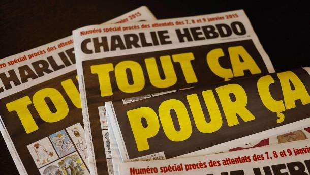 Pariser Stimmen zu den umstrittenen Karikaturen