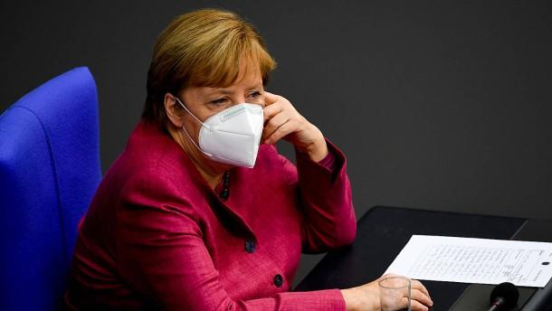Merkel hält Maßnahmen für verhältnismäßig