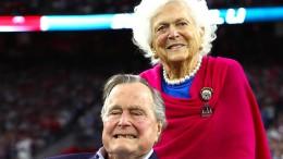 George H.W. Bush im Krankenhaus