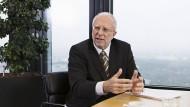 In der letzten Amtszeit: ADAC-Präsident August Markl